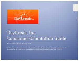 2017 orientation guide book template daybreak